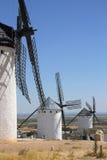 La Mancha Windmills - Spain Royalty Free Stock Image