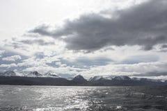 La Manche de briquet, Ushuaia Photographie stock libre de droits