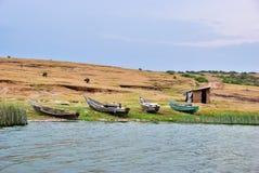 La Manche de Kazinga, la Reine Elizabeth National Park, Ouganda photos stock