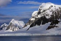 La Manche de Lemaire, Antarctique Photographie stock libre de droits
