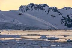 La Manche de Lemaire - Antarctique Photographie stock