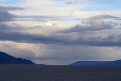 La Manche Ushuaia Argentine, briquet Ushiaia kanaal Argentin de briquet photographie stock libre de droits