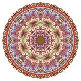 La mandala, ornamento étnico tribal, vector islámico Imagen de archivo