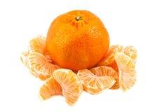 La mandarina Foto de archivo libre de regalías