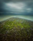 La manera al mar Fotos de archivo libres de regalías