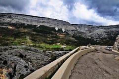 La manera de la montaña Imagen de archivo