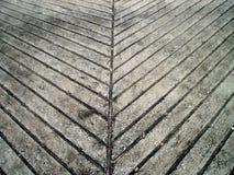 La manera del cemento Fotografía de archivo libre de regalías