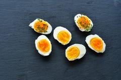 La manera del huevo Fotografía de archivo libre de regalías