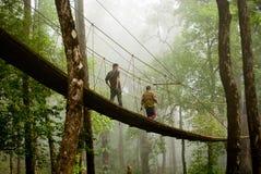 La manera del paseo del toldo Fotografía de archivo libre de regalías