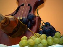 La manera del vino 5 fotografía de archivo