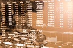 La manera moderna de intercambio y de bitcoin es pago conveniente en glob Foto de archivo libre de regalías