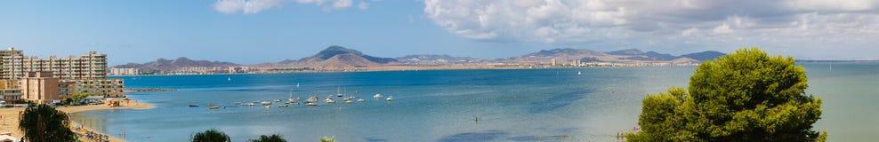 La Manga del Mar Menor, Murcia, Spain. La Manga del Mar Menor Panorama, Murcia, Spain Royalty Free Stock Image