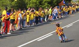 La manière catalanne, dans Ametlla De mars, Catalogne, Espagne Images stock