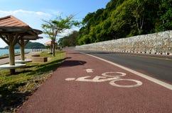 La manière de bicyclette Images libres de droits