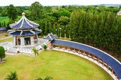 La manière sur la pagoda Images libres de droits