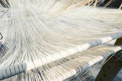 La manière traditionnelle de sécher la farine fine à Taïwan photos libres de droits