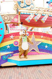 La manifestazione del fumetto di Walt Disney sulla parata nelle parate di Hong Kong Disneyland Fotografie Stock Libere da Diritti