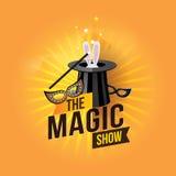 La manifestazione magica Fotografia Stock