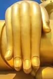 La mano calma di Budda immagine stock libera da diritti