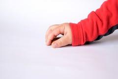 La mano dei bambini con i biscotti Fotografia Stock Libera da Diritti