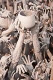 La mano del diavolo Fotografia Stock Libera da Diritti