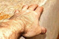 La mano del ` s del hombre Imágenes de archivo libres de regalías