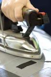 Rivestire di ferro professionale Fotografia Stock