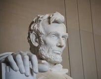 La mano destra di Lincoln Fotografia Stock