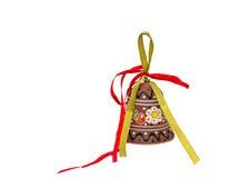 La mano hizo la decoración a mano de cerámica. Foto de archivo libre de regalías