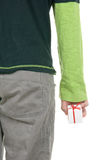 La mano tiene il piccolo GIF Immagine Stock Libera da Diritti