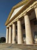 La Manoir-Virginie à colonnes de marbre photo libre de droits