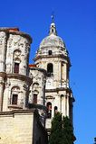 La Manquita cathedral, Malaga, Spain. Royalty Free Stock Image
