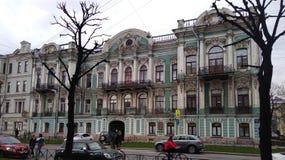 La mansión de E M Buturlina Imagen de archivo libre de regalías