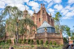 La mansión frecuentada en el reino mágico, Walt Disney World imagen de archivo libre de regalías