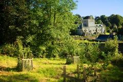 La mansión vieja de la abadía Devon de Buckland Fotografía de archivo libre de regalías