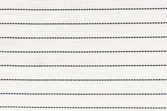 La mantelería blanca y los puntos negros alinean para el fondo Foto de archivo libre de regalías