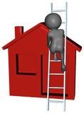 La manutenzione domestica della riparazione ritocca l'aggiornamento Fotografie Stock Libere da Diritti