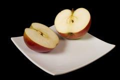 La manzana del corte Imagenes de archivo