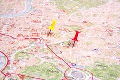 La mappa di Roma Immagine Stock Libera da Diritti