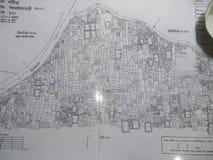 La mappa di terra fotografia stock libera da diritti
