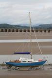 La marée est à l'extérieur. Photos libres de droits