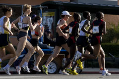 LA Marathon-Profrauen Stockbilder