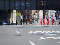 La maratona 2016 del TCS New York 158 Fotografia Stock Libera da Diritti