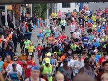 La maratona 2016 del TCS New York 528 Fotografia Stock Libera da Diritti