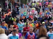 La maratona 2016 del TCS New York 529 Fotografia Stock Libera da Diritti