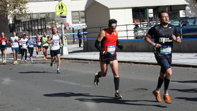 La maratona 2014 di New York 161 Immagini Stock Libere da Diritti
