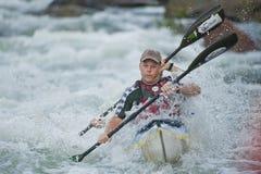 La maratona Sudafrica della canoa di Dusi immagini stock