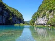 La maravilla de Plitvice Imágenes de archivo libres de regalías