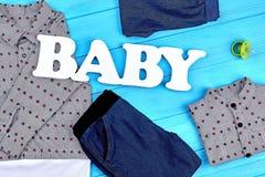 La marca del neonato copre il fondo Immagine Stock