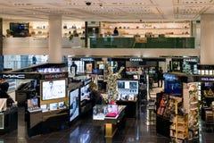 La marca di lusso compera a Milano, Italia Immagine Stock